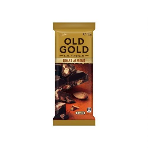 Cadbury Old Gold Roast Almond (180g) ( Australia )